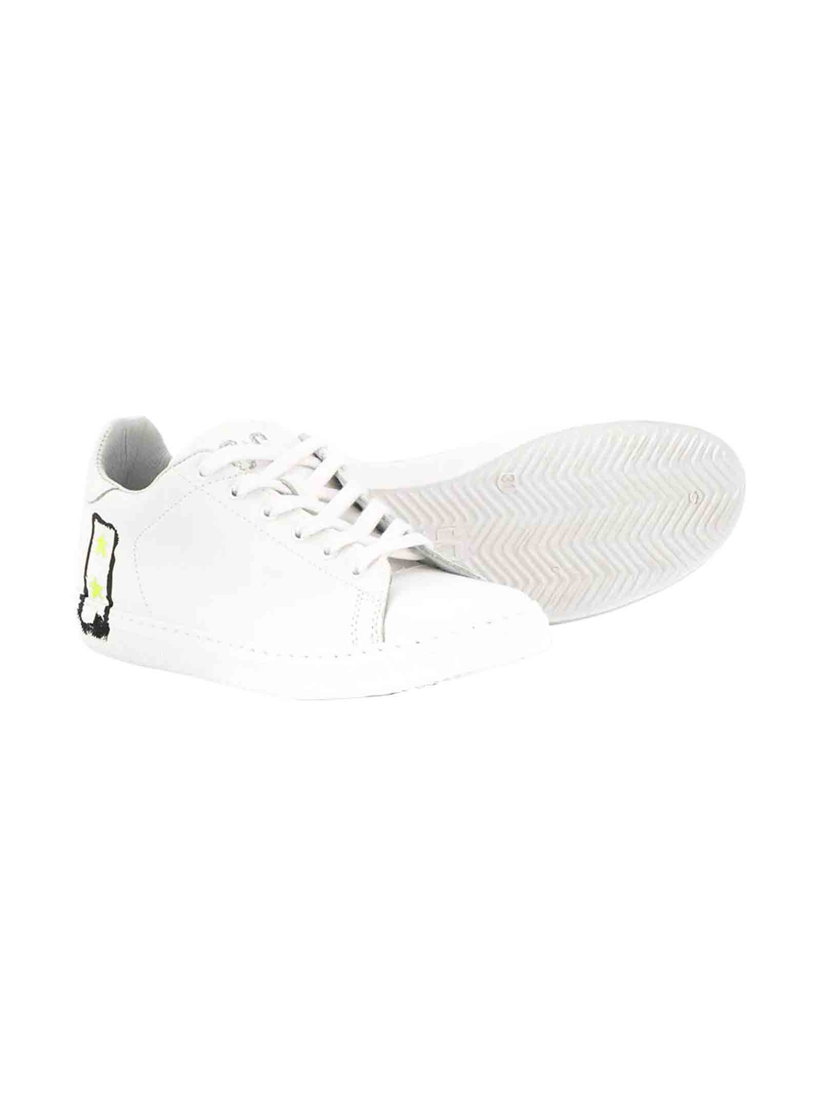 White and yellow teen sneakers 2Star kids 2Star kids | 12 | 2SB1597BIANCOGIALLOT