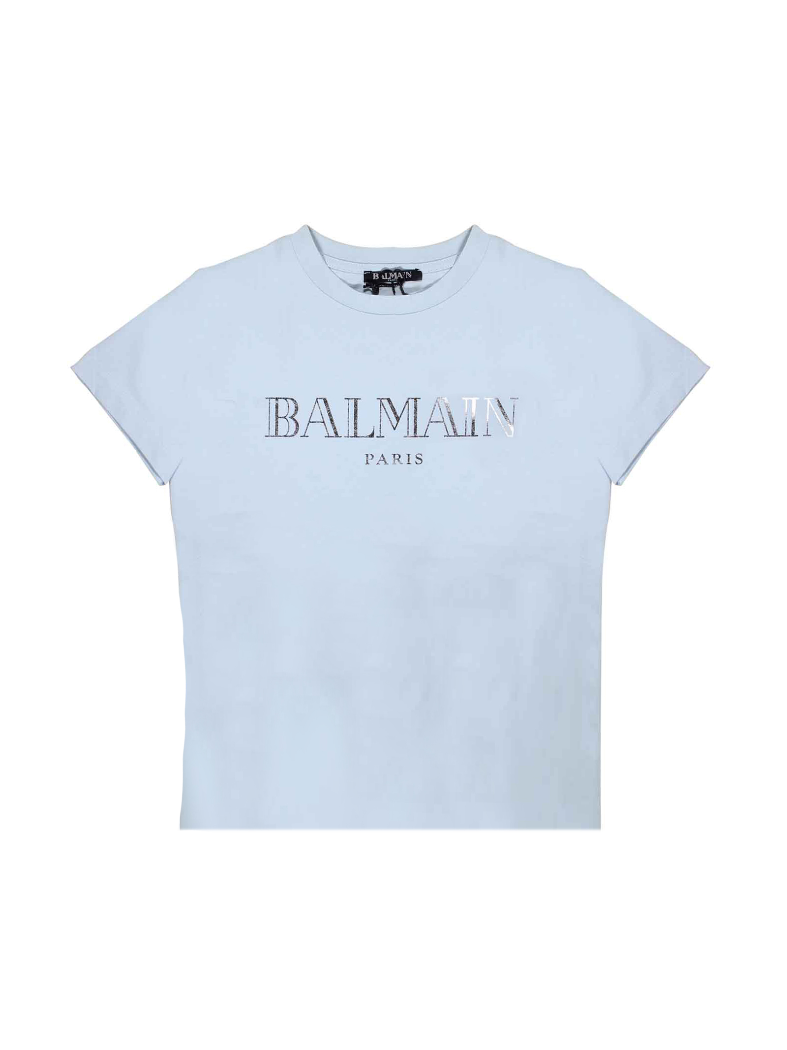 125fcdb4 LIGHT BLUE BABY T-SHIRT BALMAIN KIDS BALMAIN KIDS | 5032319 |  6L8021LX160600 ...