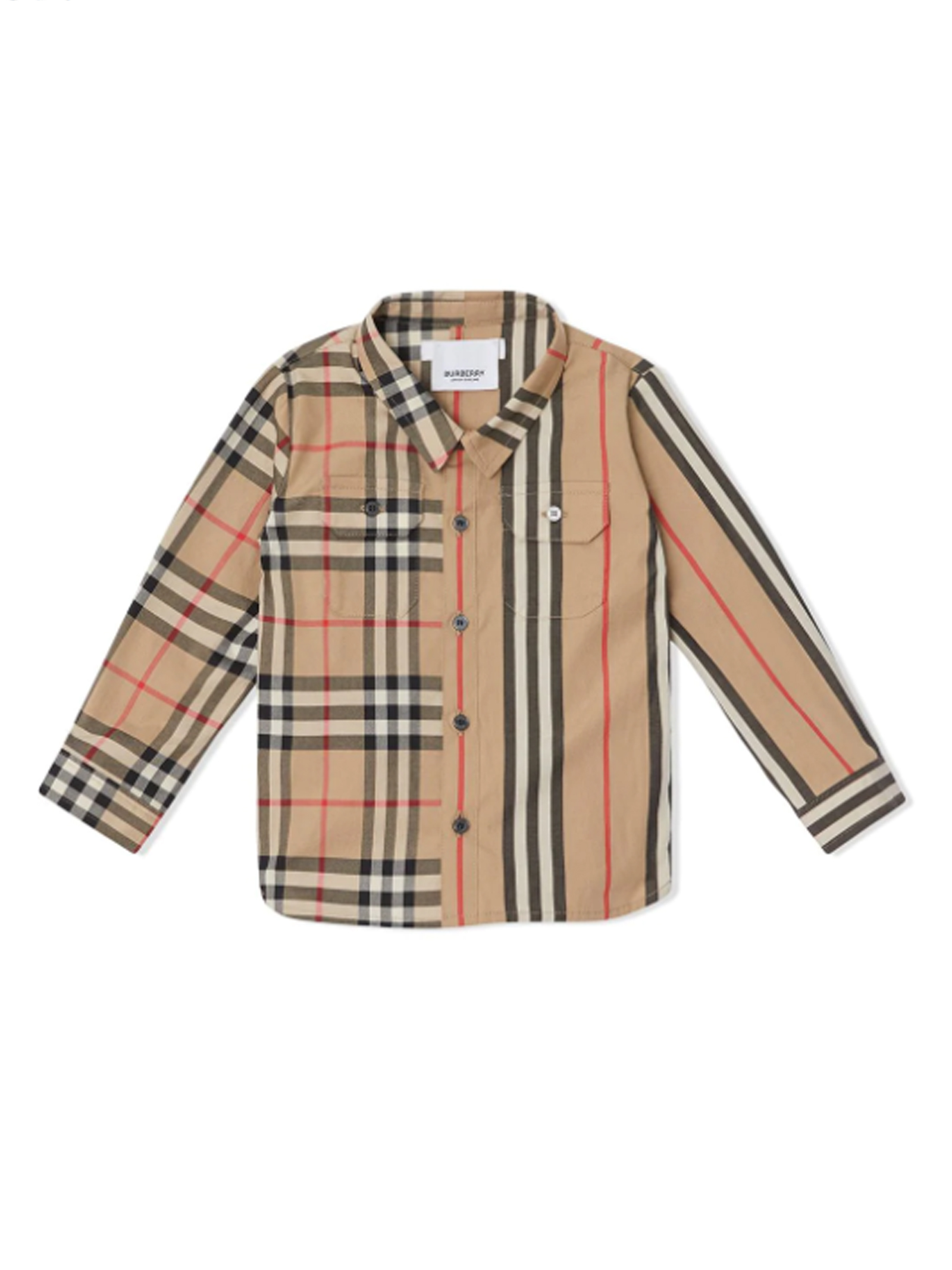 huge selection of d0d4f 06977 CAMICIA NEONATO BURBERRY KIDS