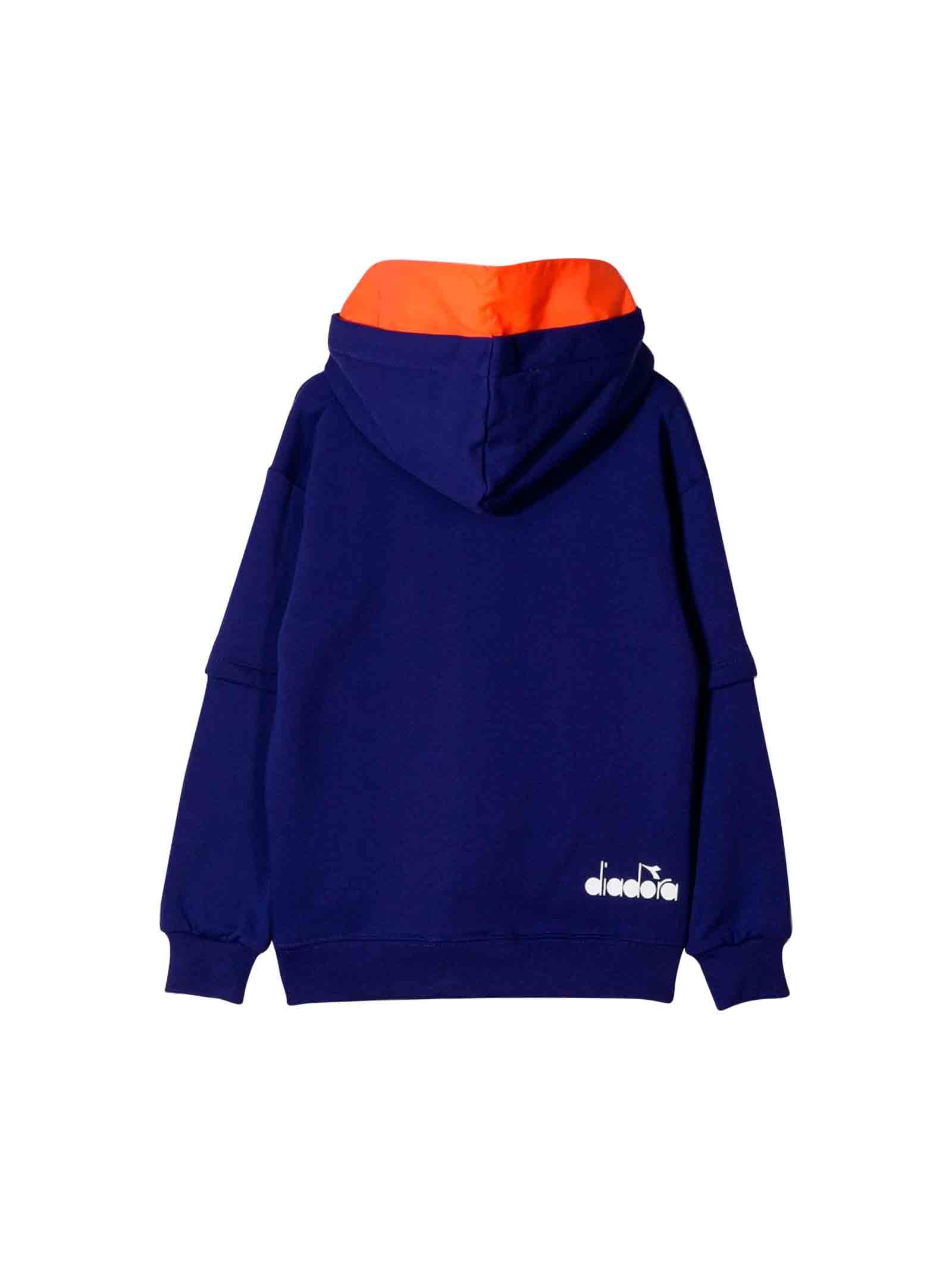 Blue Diadora junior sweatshirt  DIADORA JUNIOR | 7 | 021284070