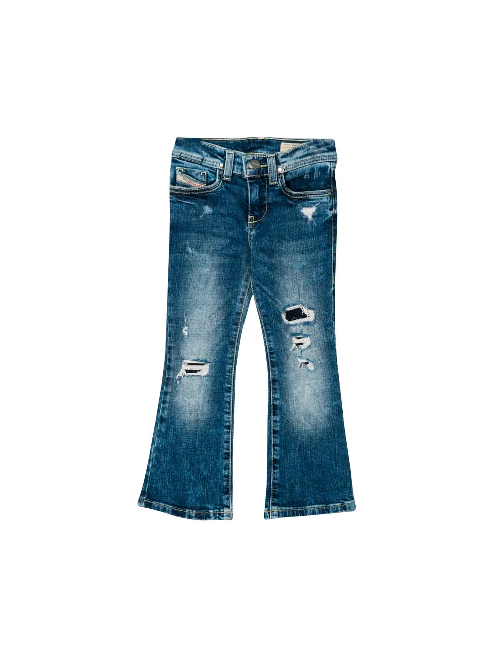 save off 9219e 00ada Blue jeans Diesel Kids