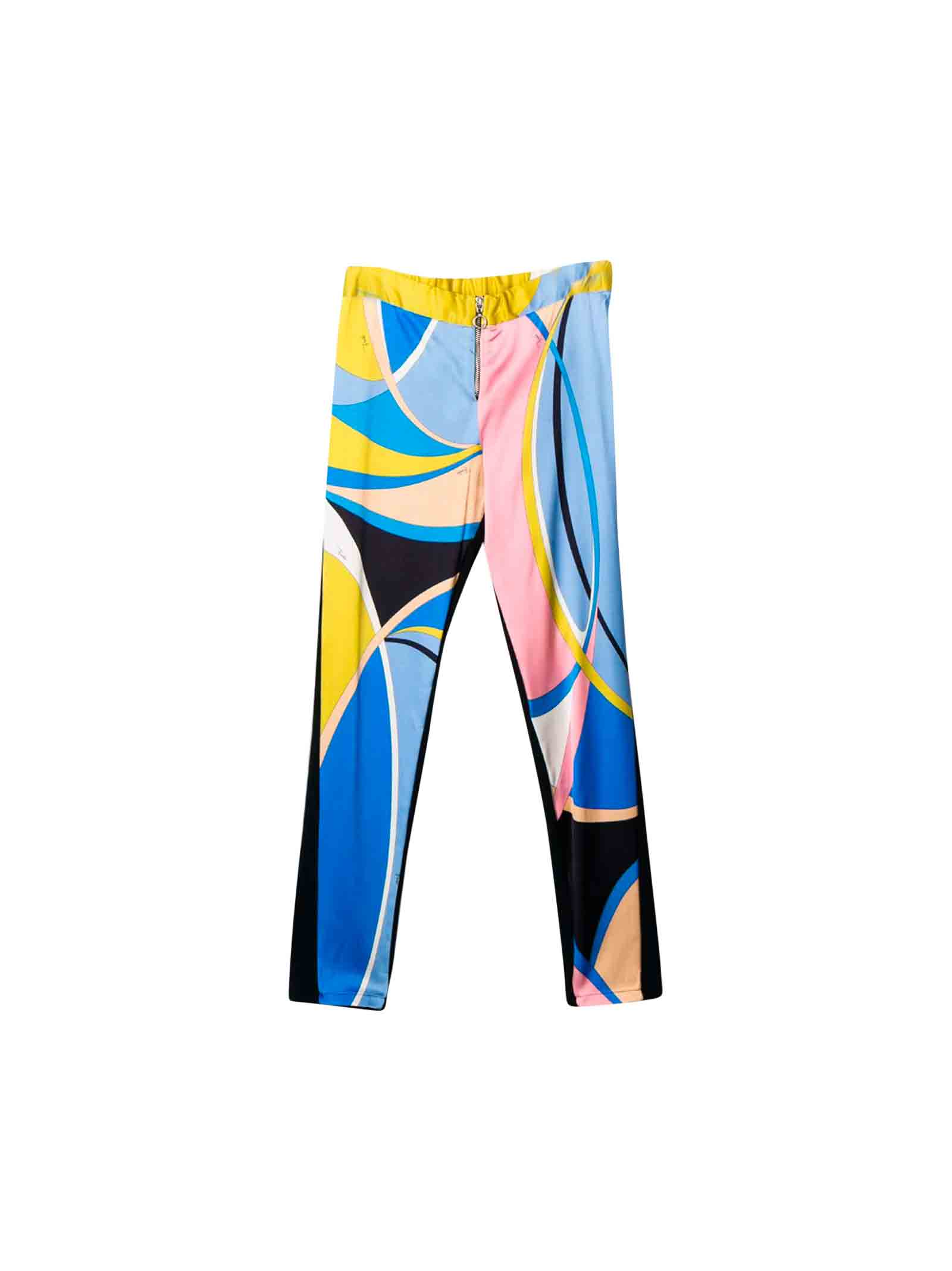 Emilio Pucci junior multicolored leggings  EMILIO PUCCI JUNIOR | 9 | 9L6220LB980620RS