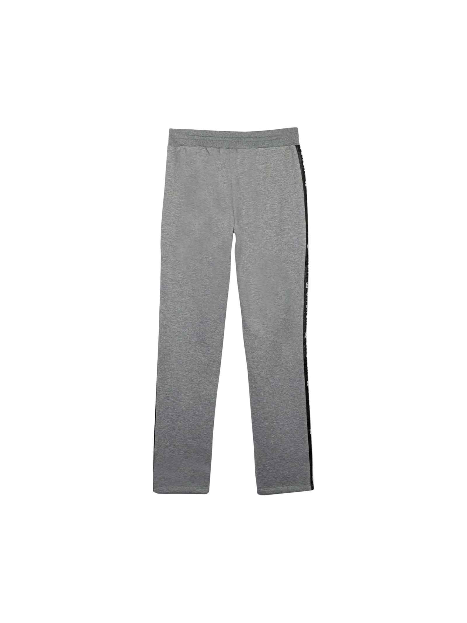 GRAY GIVENCHY KIDS TEEN TROUSERS  Givenchy Kids   9   H14061A47T