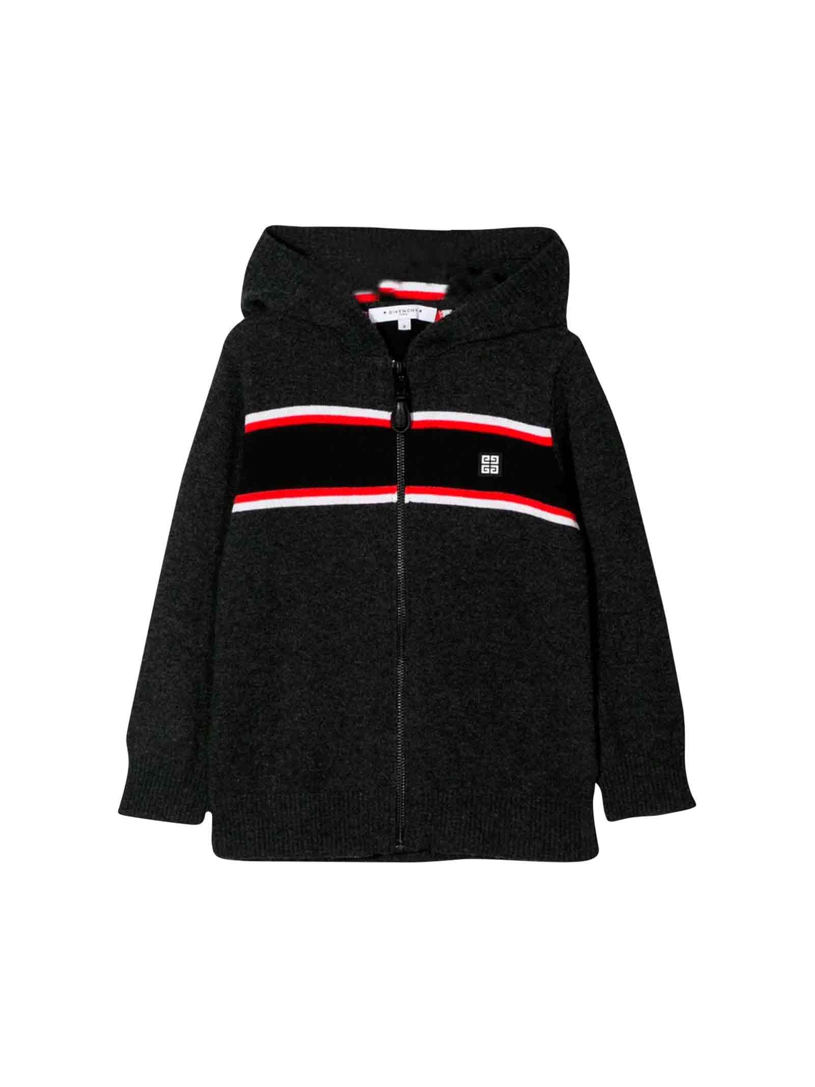 Black kids sweatshirt Givenchy kids teen  Givenchy Kids | 39 | H25125A99T