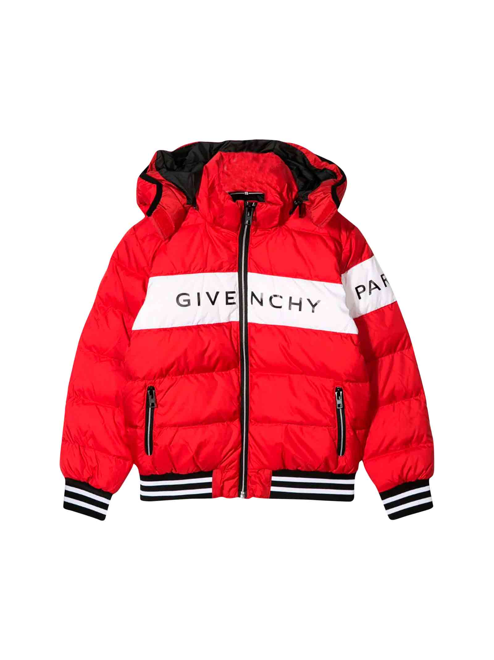 online store c04a5 92146 Piumino rosso bambino Givenchy kids