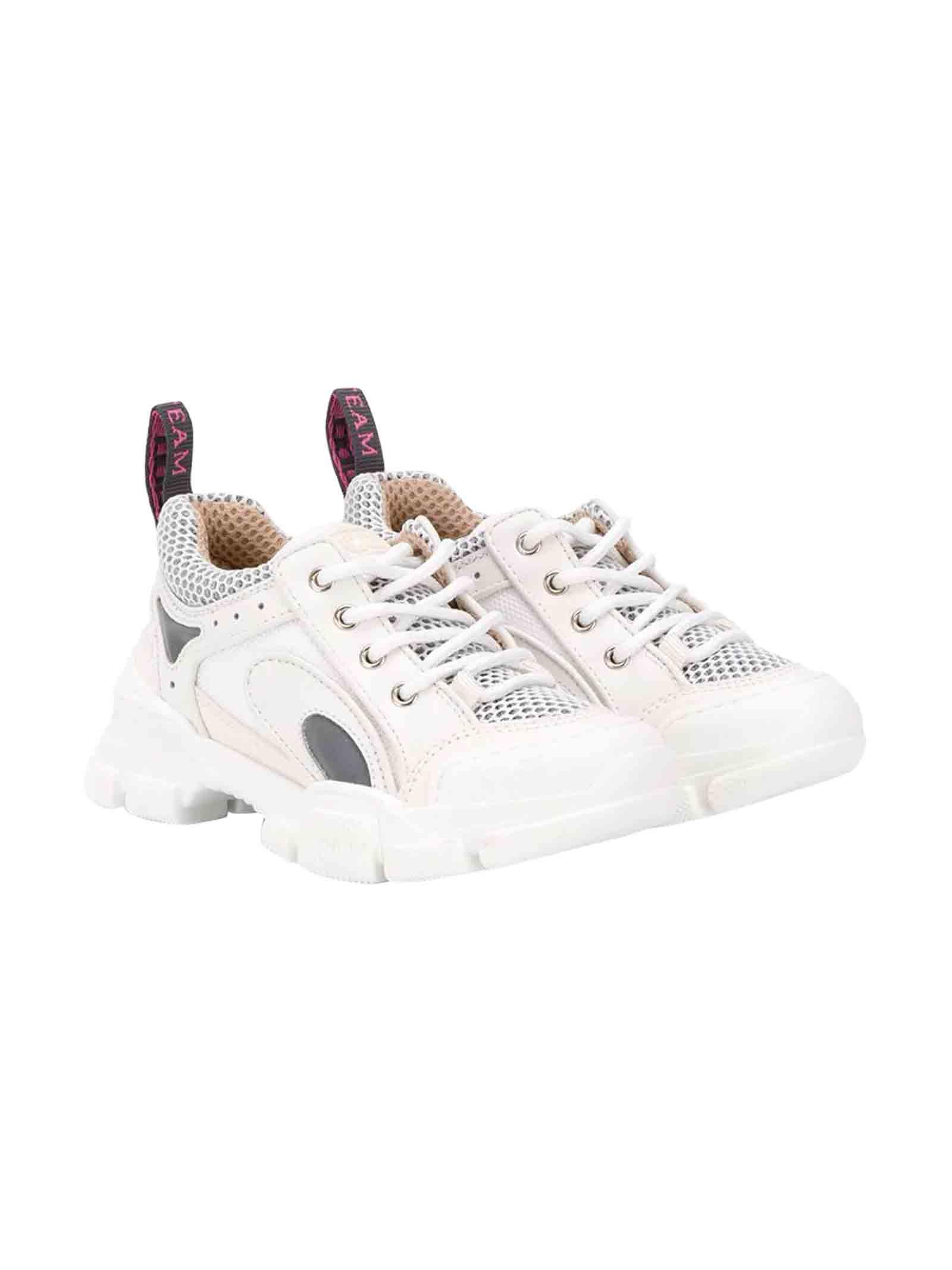 White sneakers Gucci kids GUCCI KIDS   12   580232GGZD09087