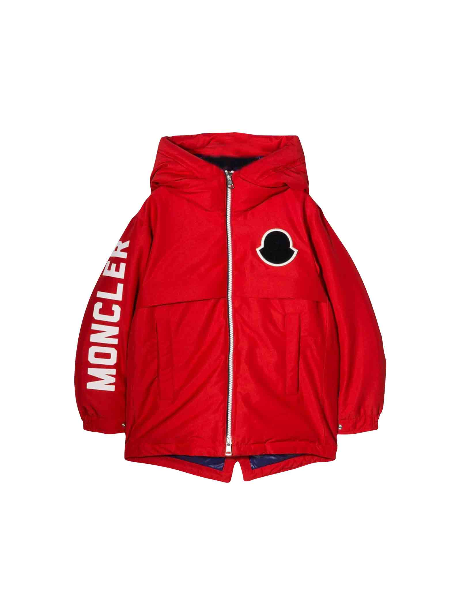 new style 44b93 42dd7 Giubbotto rosso airon bambino Moncler kids