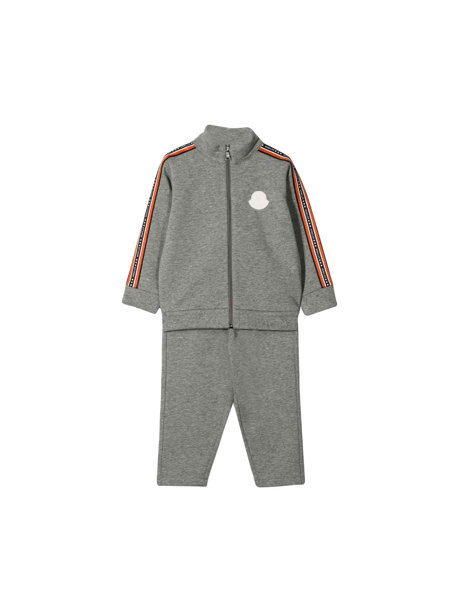huge selection of 71b75 7a74d Tuta sportiva neonato Moncler kids