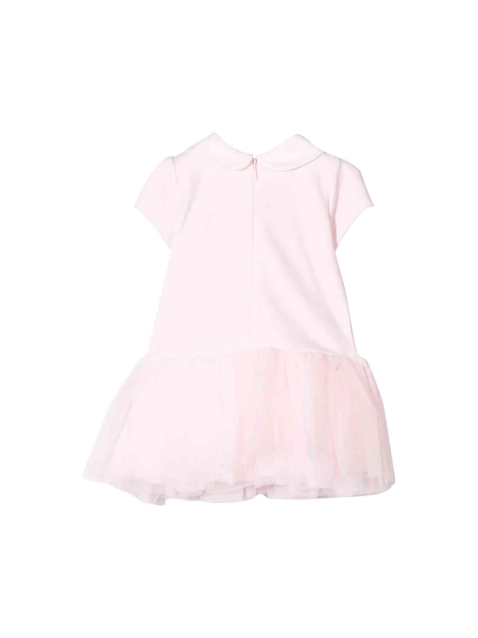 the latest 0b749 b6e2d Abito rosa neonata Monnalisa kids