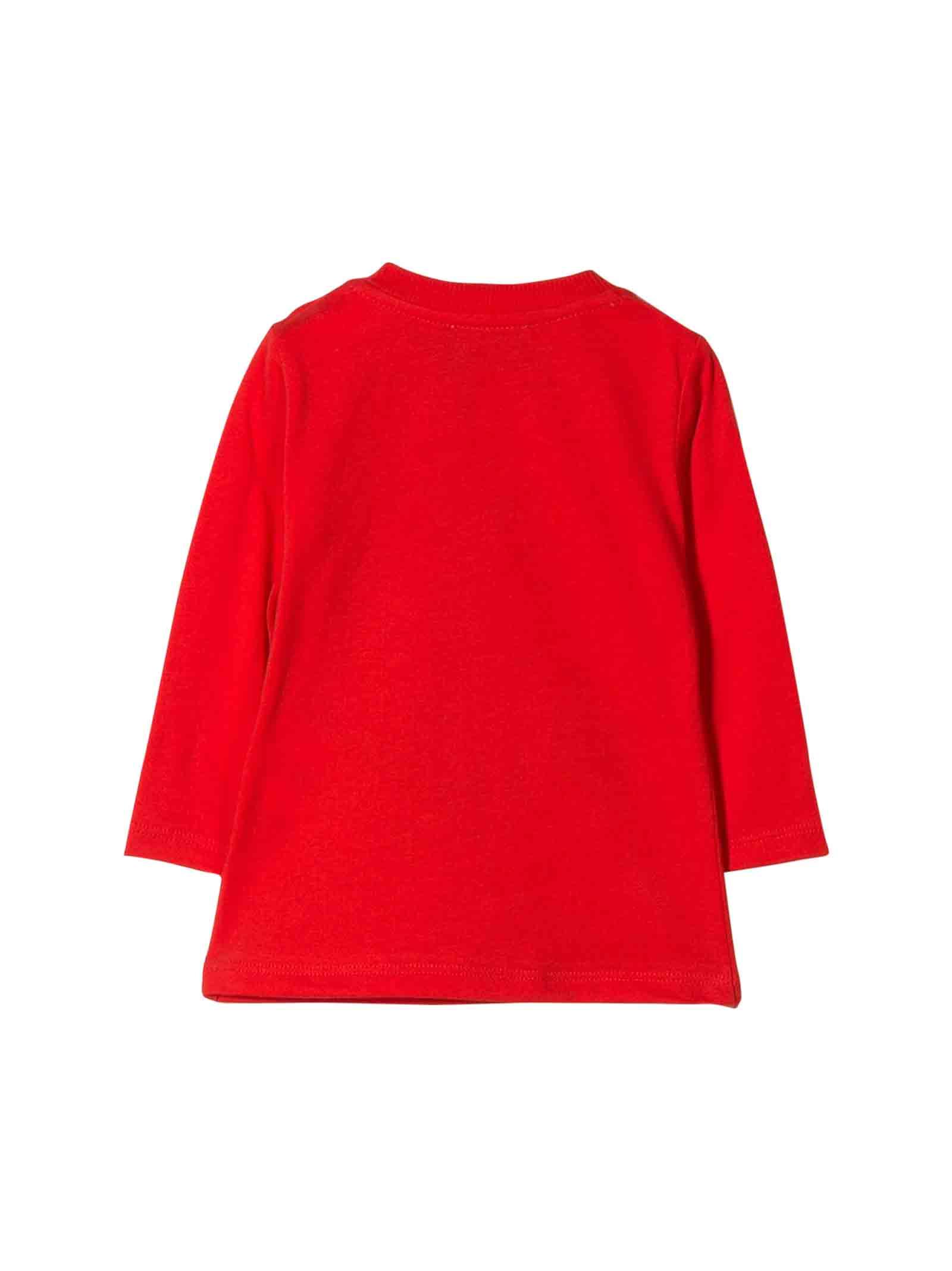 T-shirt rossa Moschino kids MOSCHINO KIDS | 8 | MTM01VLAA1050109