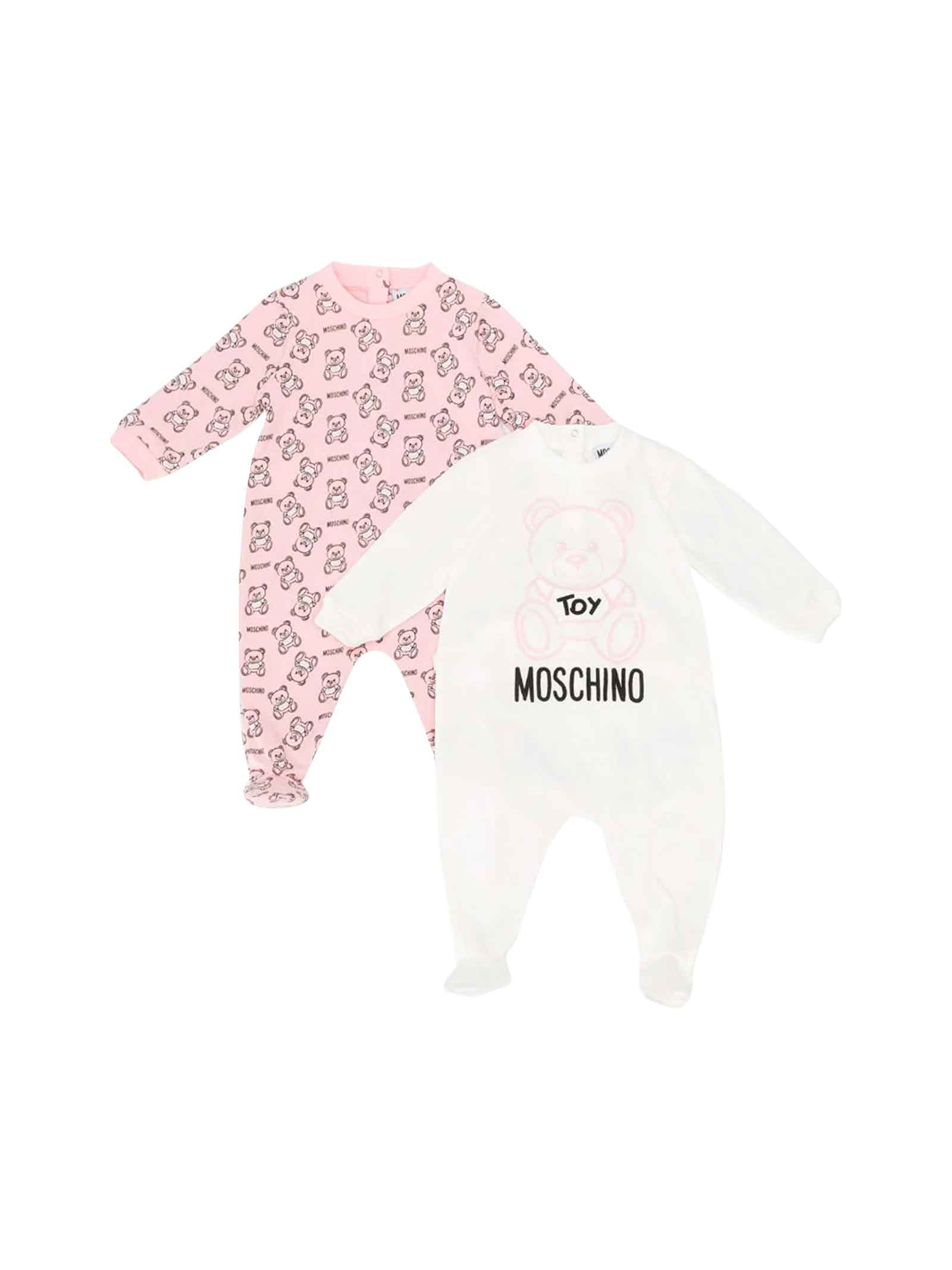 meet 028b1 7aa91 SET REGALO NEONATO MOSCHINO KIDS