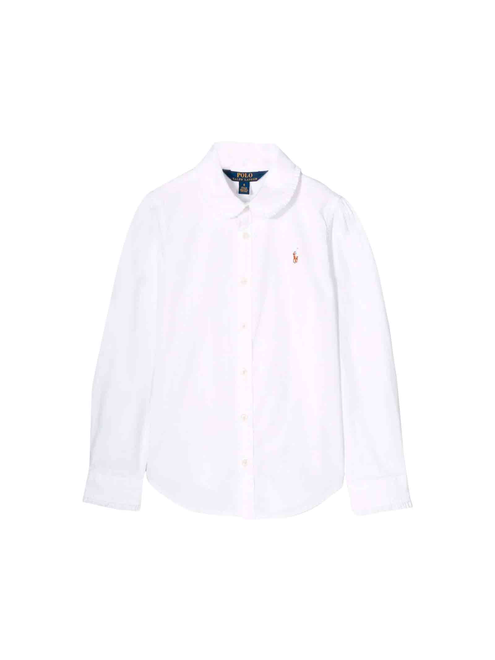 best loved 47581 9b399 Camicia bianca bambino Ralph Lauren kids
