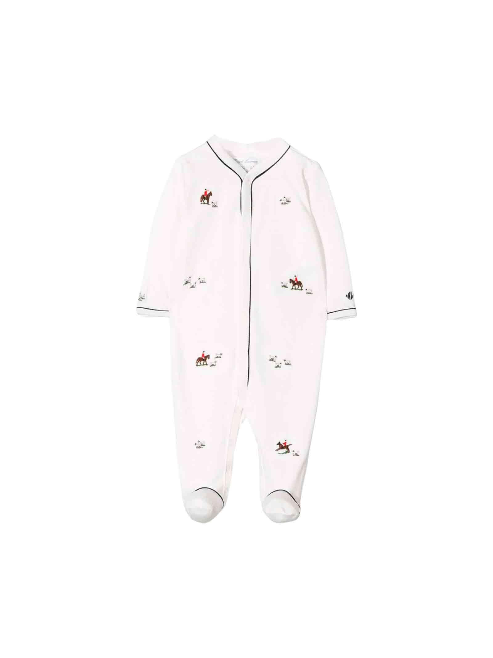 purchase cheap d5a2f 1a7c7 Tutina bianca neonato Ralph Lauren kids
