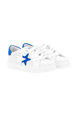 White 2stars kids sneakers  2Star kids | 90000020 | 2SB1610BIANCO/AZZURRO