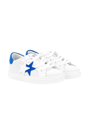 White 2stars kids teen sneakers 2Star kids | 90000020 | 2SB1610BIANCO/AZZURROT