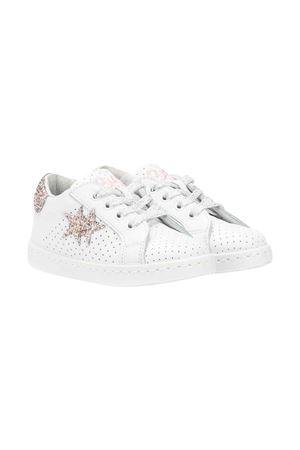 Sneakers 2stars kids teen bianche 2Star kids | 90000020 | 2SB1624BIANCO/ROSAT