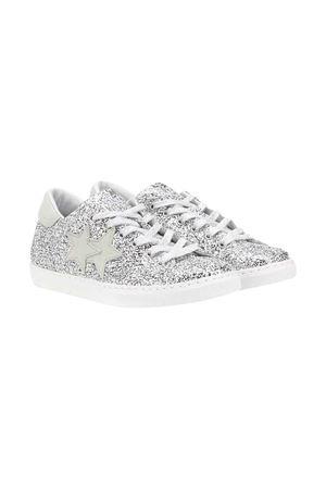 Sneakers 2stars kids silver 2Star kids | 90000020 | 2SB1641ARGENTO/GHIACCIOT