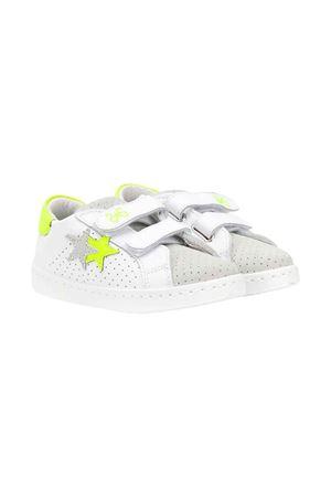 Sneakers 2stars kids bianche 2Star kids | 90000020 | 2SB1655BIAN/GHI/GIALLO