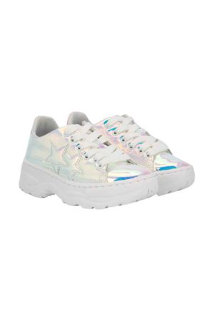 2stars kids teen iridescent sneakers  2Star kids | 90000020 | 2SB1678CANGIANTET