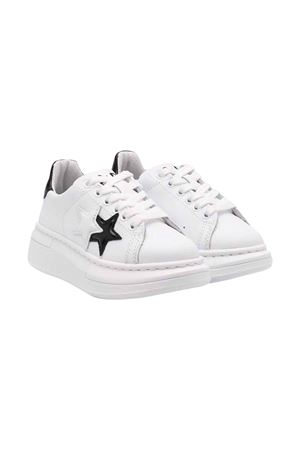 White 2star kids teen sneakers  2Star kids | 90000020 | 2SB1702WHITE/BLACK