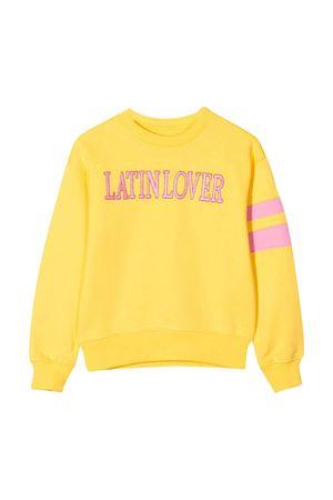 Maglione giallo con ricamo frontale Alberta Ferretti kids Alberta ferretti kids | -108764232 | 022145020
