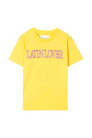T-shirt gialla Alberta Ferretti kids Alberta ferretti kids | 8 | 022146020