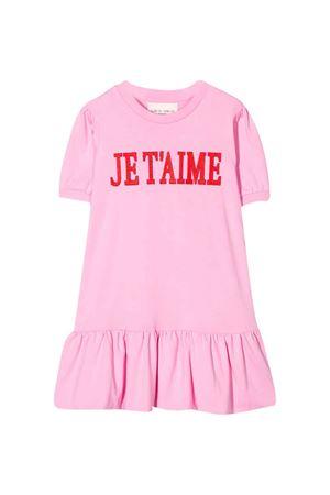 Abito rosa con stampa Alberta Ferretti Kids Alberta ferretti kids | 11 | 022157042