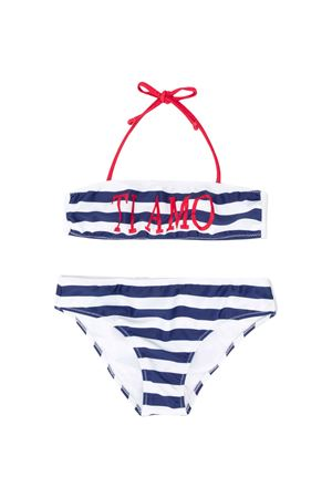 White bikini with blue striped Alberta Ferretti kids teen Alberta ferretti kids | 85 | 022180060T