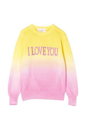 Maglione giallo-rosa Alberta Ferretti kids Alberta ferretti kids | 7 | 022189020/20