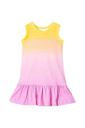 Alberta Ferretti kids teen sleeveless multicolor dress  Alberta ferretti kids | 11 | 022190020/20T
