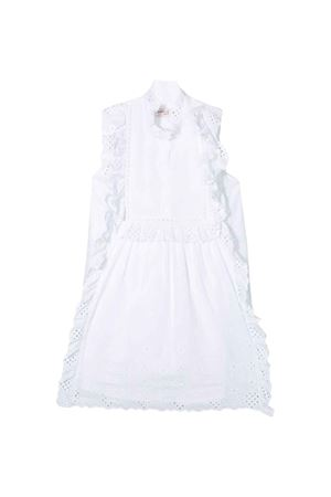 Alberta Ferretti kids teen white girl dress Alberta ferretti kids | 11 | 024241002T