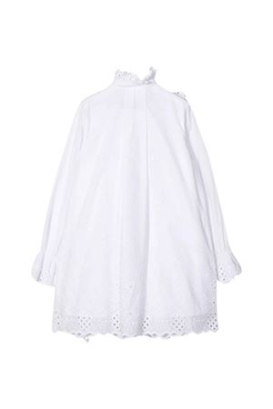 White dress with flowers Alberta Ferretti kids Alberta ferretti kids | 11 | 024249002