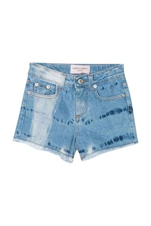 Shorts denim teen con stampa posteriore Alberta Ferretti Kids Alberta ferretti kids | 30 | 024268126T