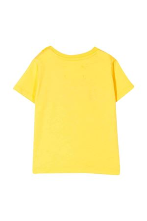 Yellow t-shirt with frontal embroidery Alberta Ferretti kids Alberta ferretti kids | 8 | 024407020