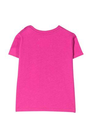 T-shirt fucsia con ricamo frontale Alberta Ferretti kids Alberta ferretti kids | 8 | 024407044
