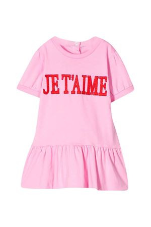 Pink dress with press Alberta Ferretti Kids Alberta ferretti kids | 11 | 024409042