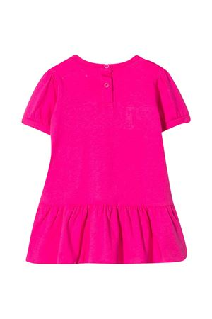 Fuchsia dress with French Kiss embroidery Alberta Ferretti kids Alberta ferretti kids | 11 | 024409044