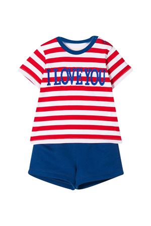 Blue and red striped suit Alberta Ferretti kids Alberta ferretti kids | 42 | 024412040/02