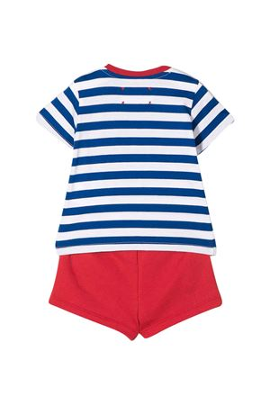 Two-piece blue and red striped suit Alberta Ferretti kids Alberta ferretti kids | 42 | 024412060/04
