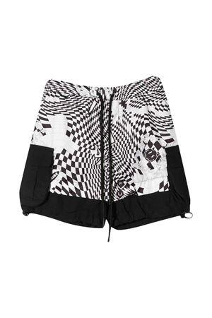Shorts a quadri teen Araia kids Araia Kids | 85 | PS1103ABIANCO/NEROT
