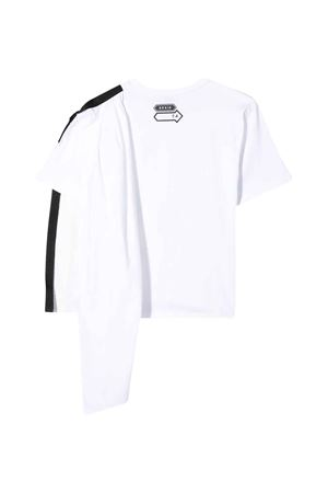 White Araia Kids draped t-shirt Araia Kids | 40 | TOP1147BBIANCO