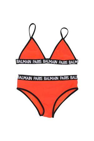 Balmain kids red bikini teen BALMAIN KIDS | 85 | 6M0109MX400413T