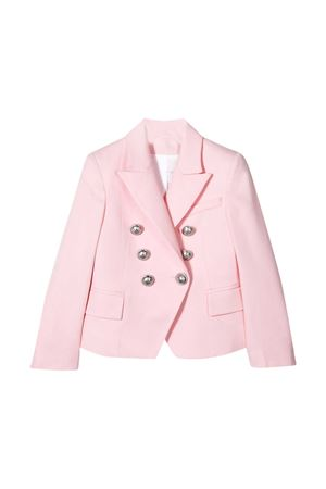 Pink blazer Balmain kids  BALMAIN KIDS | 5032278 | 6M2054MD570505