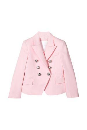 Pink blazer Balmain kids teen  BALMAIN KIDS | 5032278 | 6M2054MD570505T