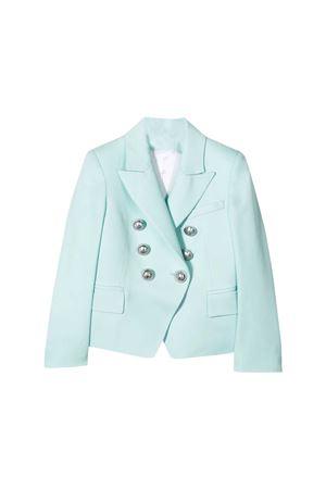 Green blazer Balmain kids teen  BALMAIN KIDS | 5032278 | 6M2054MD570629T
