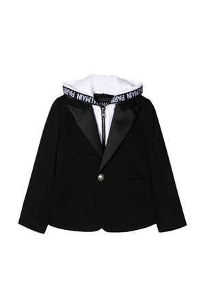 Blazer nero Balmain kids teen BALMAIN KIDS | 5032278 | 6M2507MC080930NET