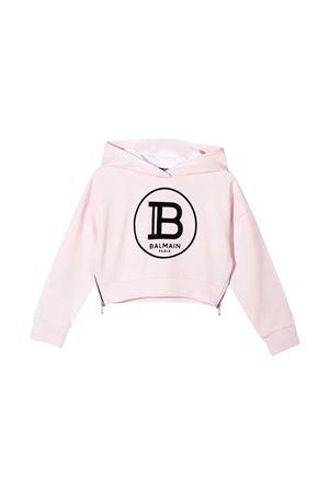 Pink sweatshirt Balmain kids teen  BALMAIN KIDS | -108764232 | 6M4000MX270502T