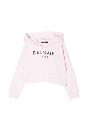 Felpa rosa Balmain kids teen BALMAIN KIDS   -108764232   6M4010MX270506T