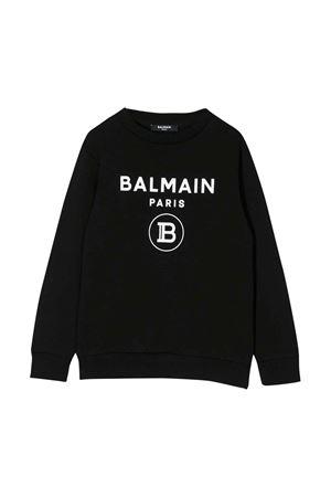 Black sweatshirt  Balmain kids  BALMAIN KIDS | -108764232 | 6M4760MX270930