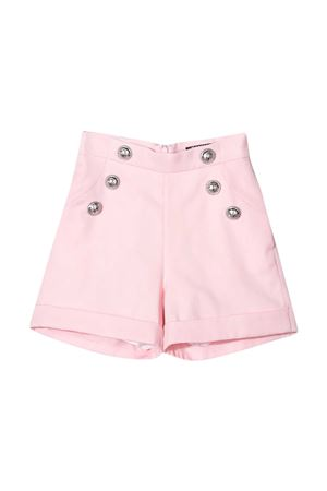 Pink shorts Balmain kids  BALMAIN KIDS | 30 | 6M6089MD570505